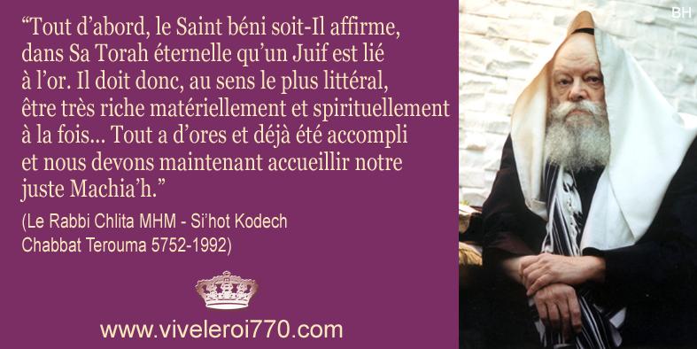 Habad citation du rabbi